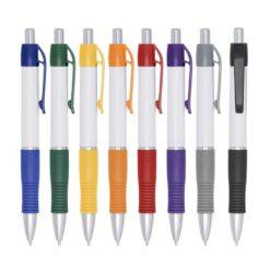 caneta branca cores