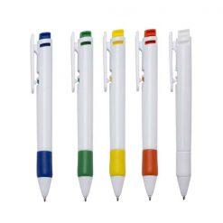 canetas personalizadas grip cores