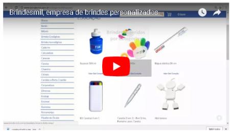 Vídeo de brindes  - site Brindesmil 3