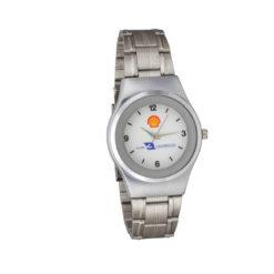 Relógio de pulso de pulseira metálica