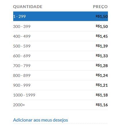 site de brindes preço